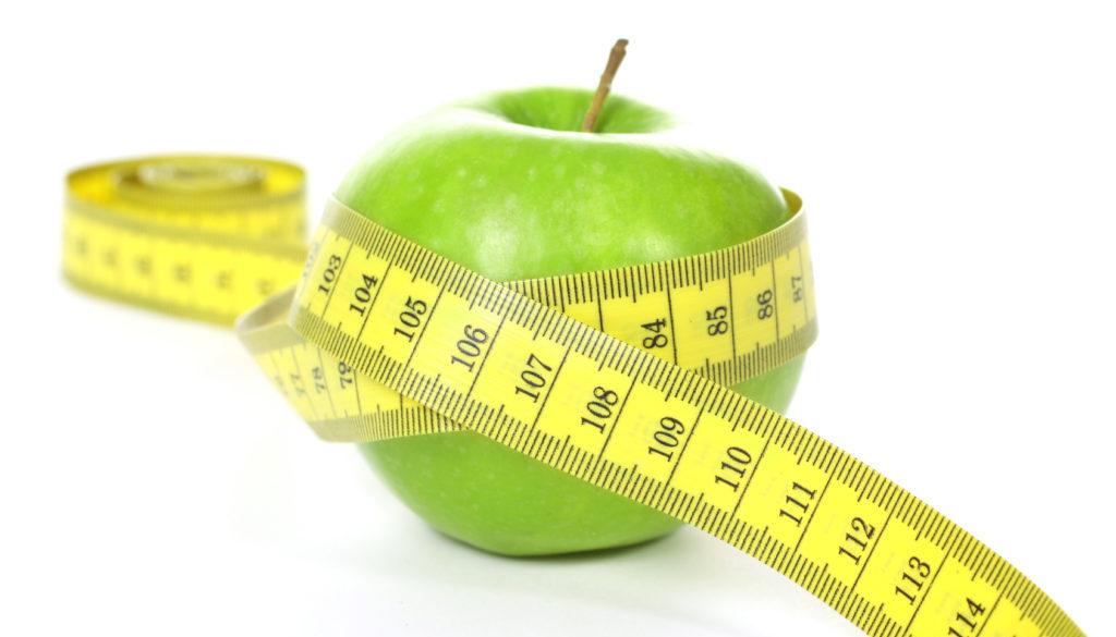 eingewickelter Apfel