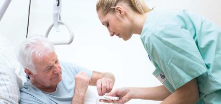 Patient Krankenschwester